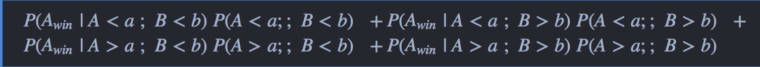 probablity equation